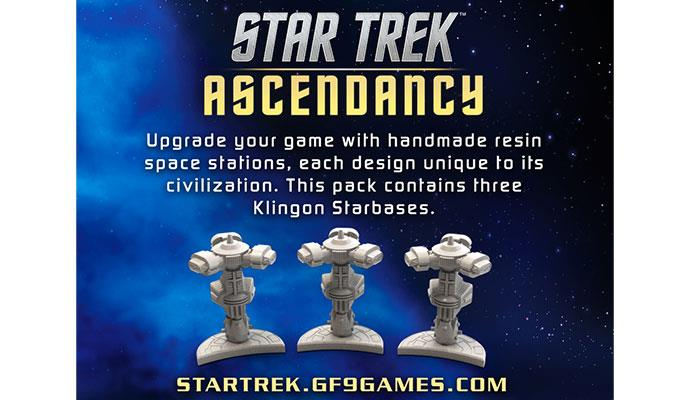 Klingon Starbases: Star Trek Ascendancy -  Gale Force 9