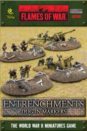 BB106 Entrenchments - Dug in Markers