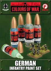 CWP111 German Infantry Paint Set