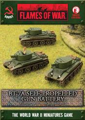 SBX25 BT-7A Self-propelled Gun Platoon
