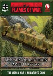 GBX63 BP44 Armoured Train Artillery Car