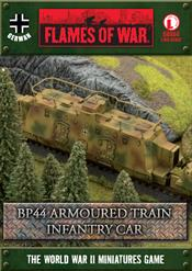 GBX64 BP44 Armoured Train Infantry Car