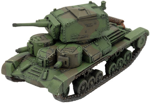 The A9 Cruiser Mk I miniature