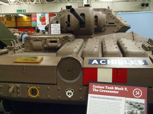 Tanks in the Flesh
