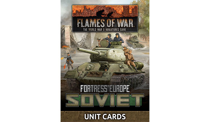 Fortress Europe Soviet Unit Cards (FW261)
