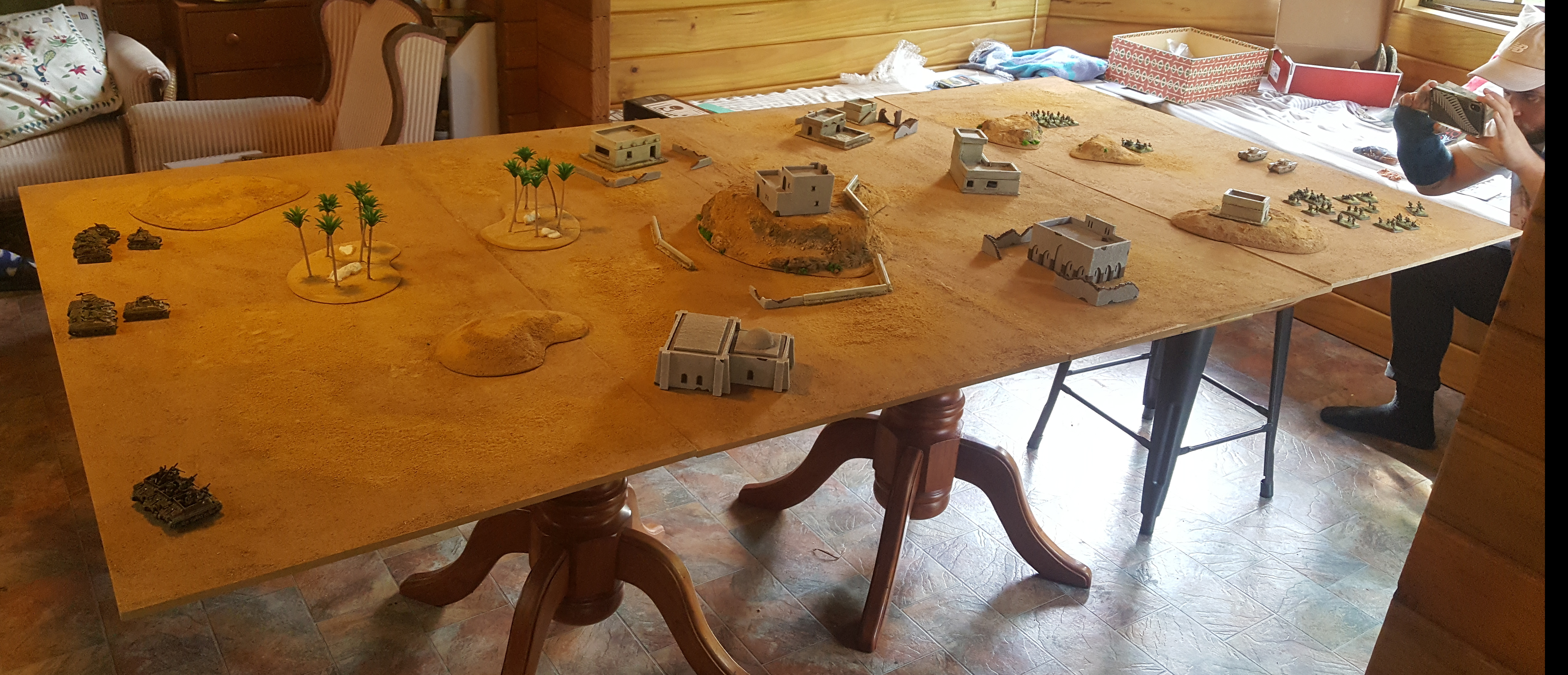 Red Devils In The Desert: A Battle Report