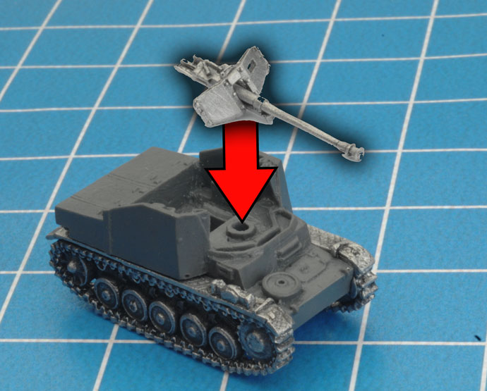 Assembling The Marder II (7.5cm) Tank-hunter (GE103)