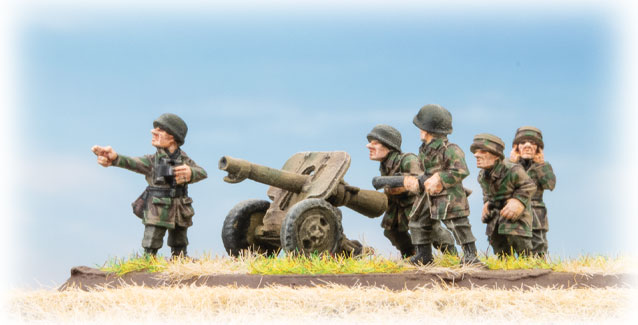 Click here to view the Fallschirmjager 10.5cm Recoilless Battery Spotlight