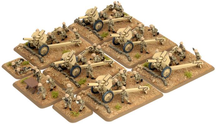 Artillery HQ and Crew (AAR729)