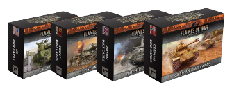 Armies of Late-War Unit Card Packs