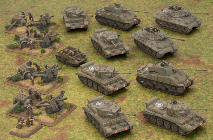 British Armoured Battle Group (BRAB10)