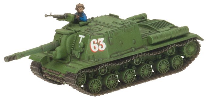 Click here to learn how to assemble the ISU-122 here...