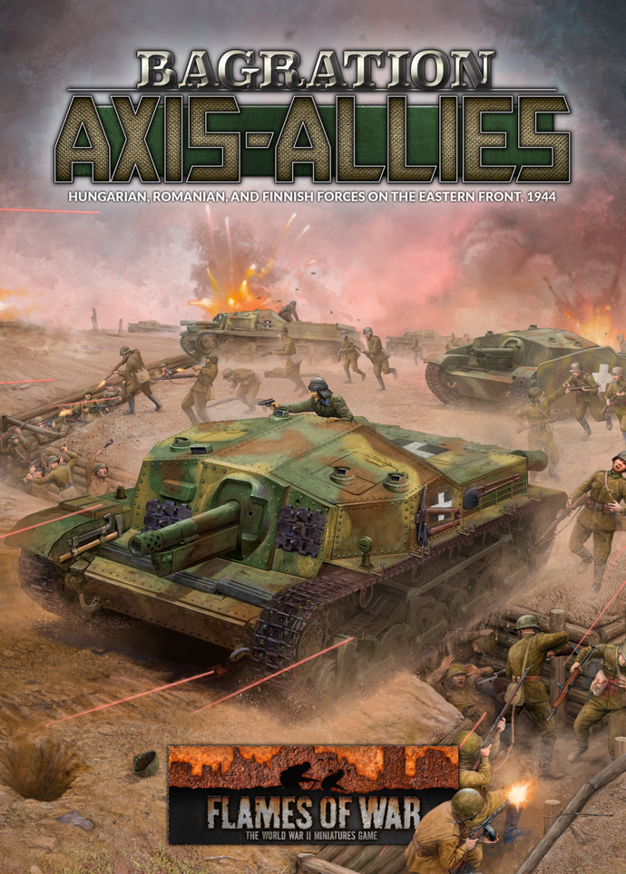 Pre-order Bagration: Axis-Allies - Hungarian, Romanian and Finish Forces On The Eastern Front