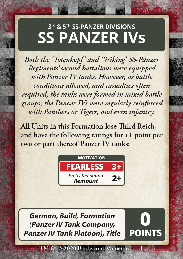 Bagration: German Command Cards (FW267C)