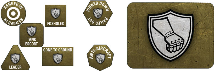 78. Sturmdivision Token & Objective Set (GSO914)