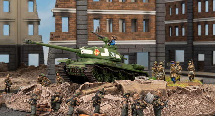 Hunting the Big Cats - A Look at the IS Series in Flames Of War