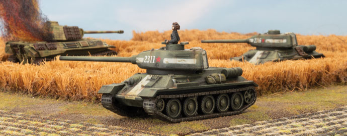 Returning To The Rodina - T-34 Battalion