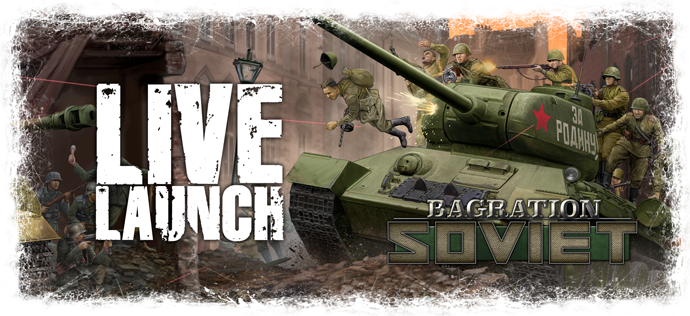Bagration Soviet Live Launch