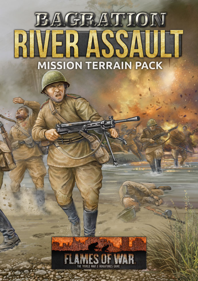 Bagration: River Assault Mission Terrain Pack (FW266A)