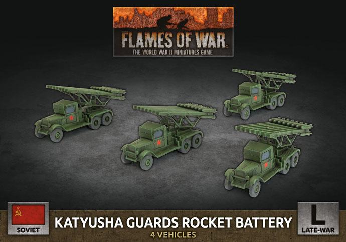 Katyusha Guards Rocket Battery (SBX74)