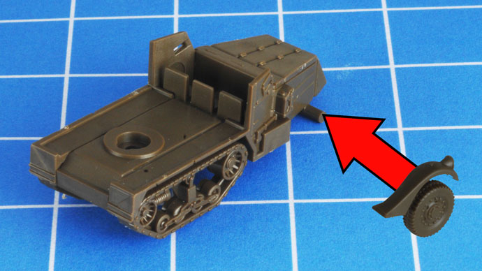 ZSU M17 Assembly Guide