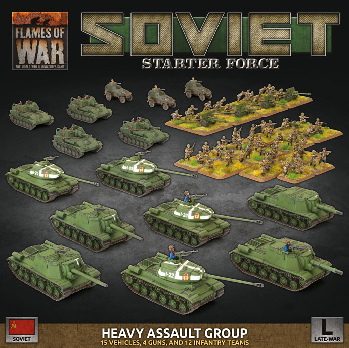 Soviet Starter Force - Heavy Assault Group (Plastic) (SUAB13)
