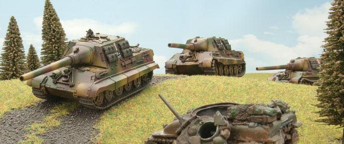 Jagdtigers of 512. Schwere Panzerjagerkompanie