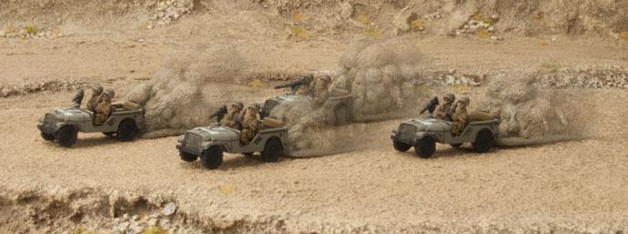 Israeli Super Jeeps