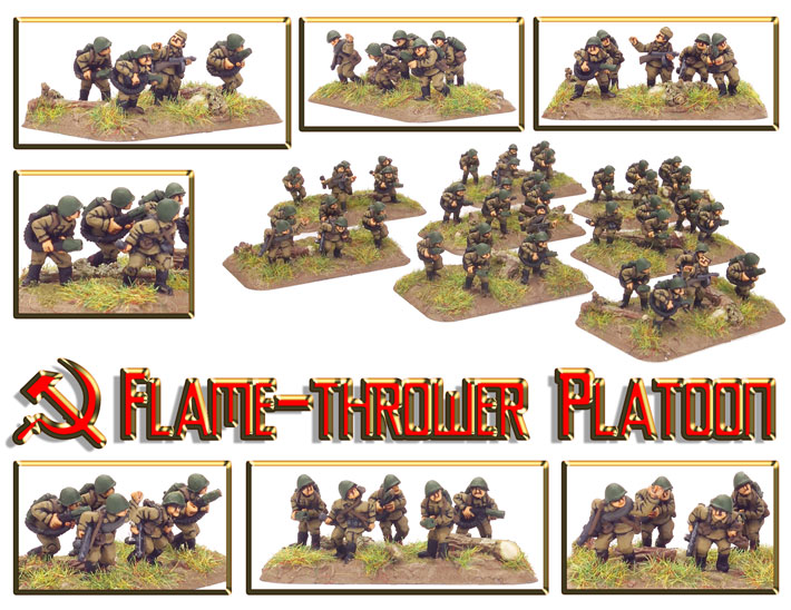 Flame Thrower Platoon