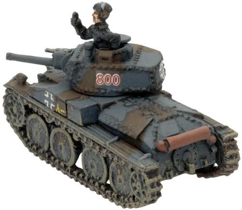 Mark's Company HQ - Commany Command Panzer 38(t)