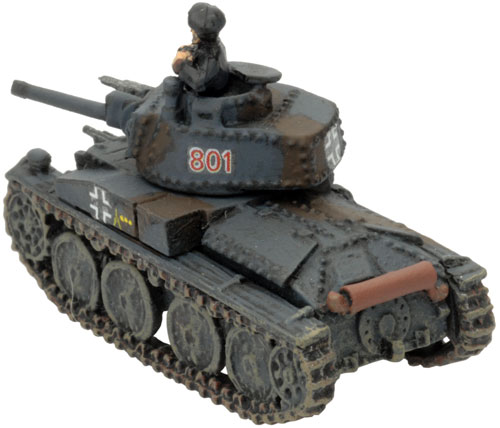 Mark's Company HQ - 2iC Panzer 38(t)