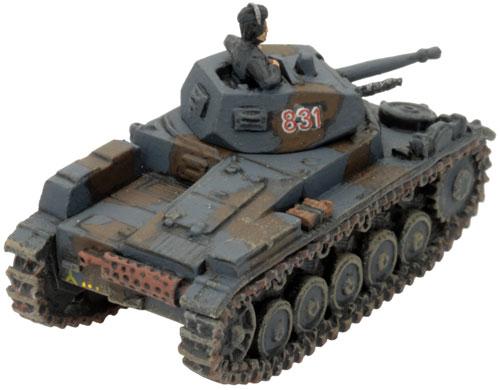 Mark's Panzer II Platoon - Panzer II C (early)