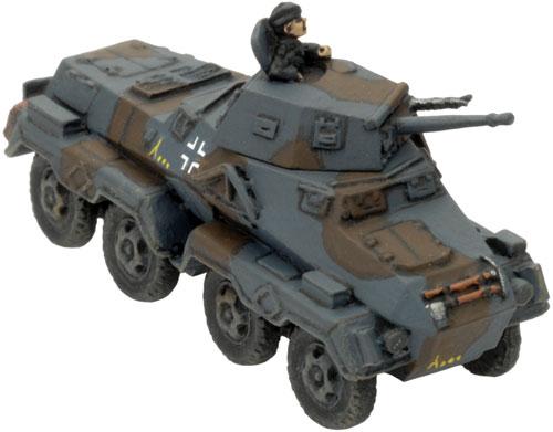 Mark's Heavy Panzerspäh Platoon - Sd Kfz 231 (8 rad)