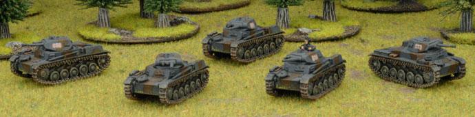 Mark's Czech Panzerkompanie - Panzer II Platoon