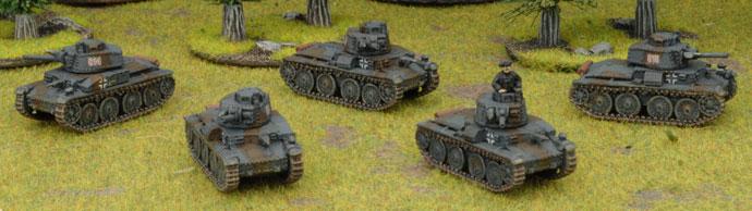 Mark's Czech Panzerkompanie - Czech Panzer Platoon