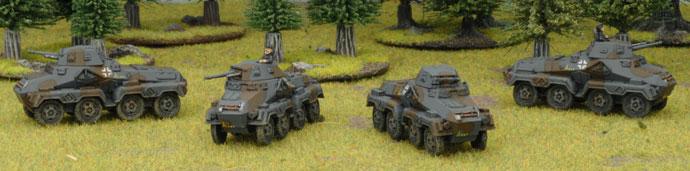 Mark's Czech Panzerkompanie - Heavy Panzerspäh Platoon