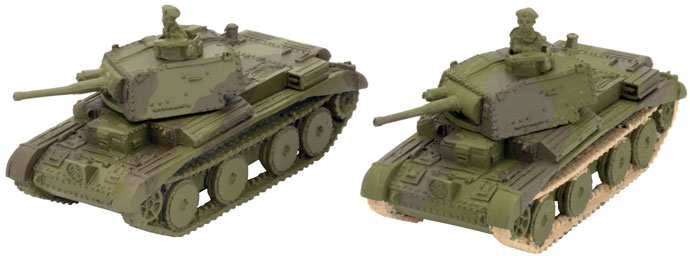 Examples of Phil's A13 Cruiser Mk III