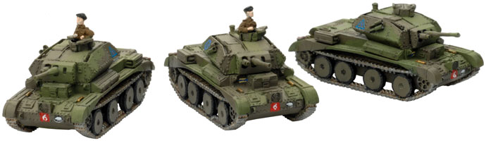 Phil's British Armoured Regiment Revisited