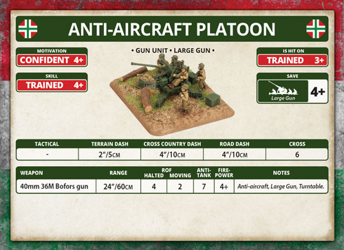 Anti-aircraft Platoon