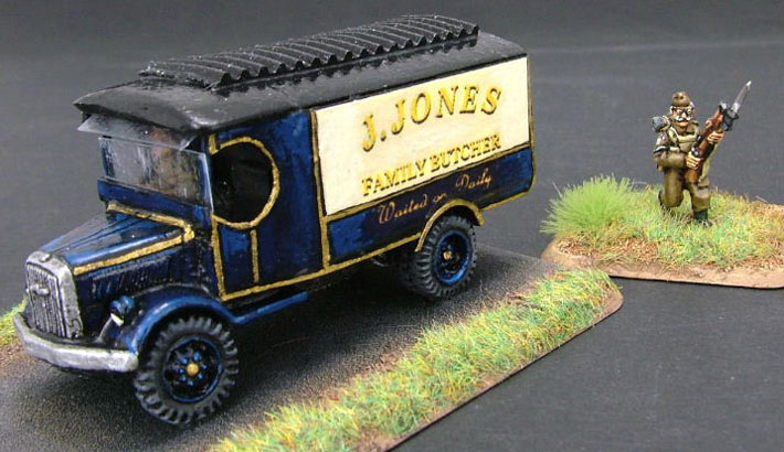 Jones and his Butcher's Van