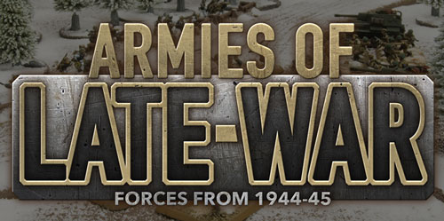 Armies Of Late War: Casey's Soviet Infantry and T-34s