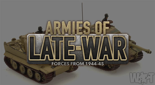Armies of Late-War: Chris' Soviet Infantry and German Cats