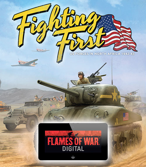 Fighting First is live on Digital