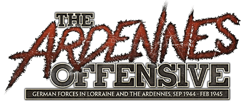 The Ardennes Offensive: German Forces in Lorrain and the Ardennes, September 1944 - February 1945