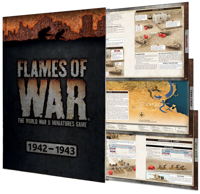 Click here to learn more about the Flames Of War 4th Edition Rulebook...