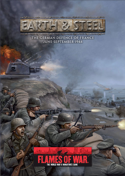 Earth & Steel: The German Defence of France, June-September 1944.