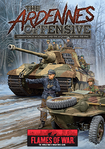 The Ardennes Offensive: German Forces in Lorraine and the Ardennes, September 1944 - February 1945