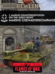 1. Marine-Infanteriedivision on the Oder Front Marine Grenadierkompanie