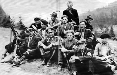 Members of the Ebbinghaus Battalion