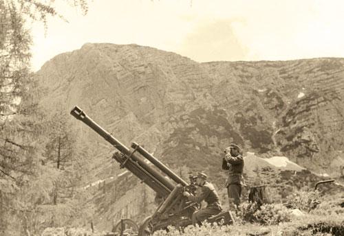 Gebirgsjager Artillery